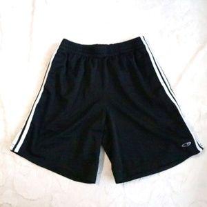 C9 by Champion Black Stripes Athletic Shorts